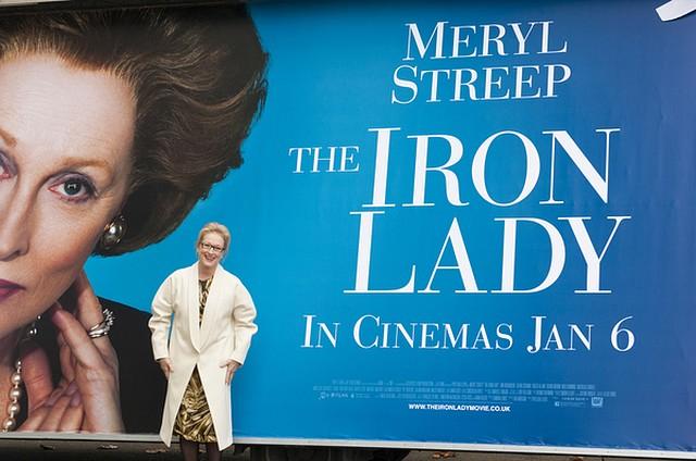 Meryl Streep jako Margaret Thatcher (FOTO)