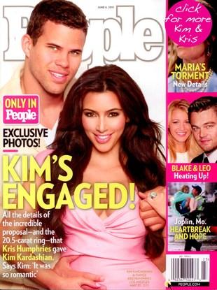 Kim Kardashian zaręczona! (FOTO)