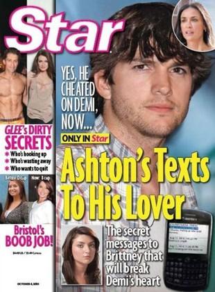Ashton Kutcher jednak zdradził Demi Moore