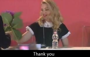 Madonna gwiazdorzy [VIDEO]