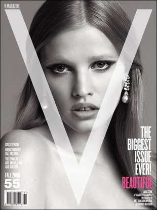 Lara Stone naga w Playboyu