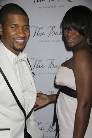 Żona Ushera miała atak serca!