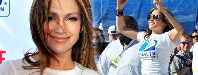 Jennifer Lopez w wersji sportowej (FOTO)