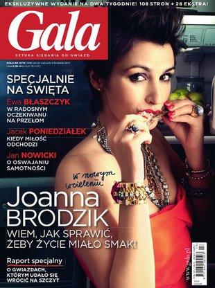 Joanna Brodzik - seks w kuchni