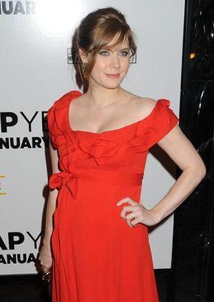 Amy Adams ma już piękny brzuszek (FOTO)