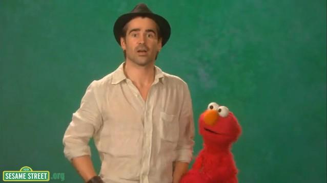 Colin Farrell - uroczy w Ulicy Sezamkowej (VIDEO)