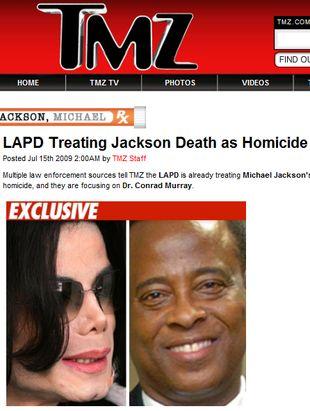 Policja traktuje śmierć Jacksona jak morderstwo!