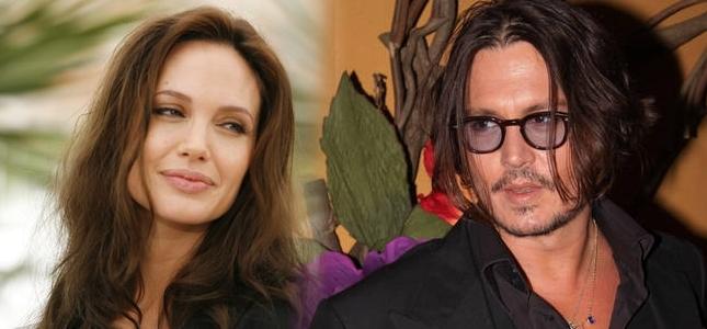 Erotyczna scena między Jolie a Deppem