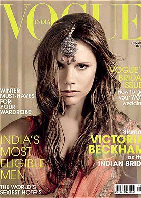 Victoria Beckham w Vogue India