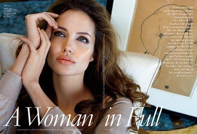 Angelina Jolie najpiękniejsza według Vanity Fair