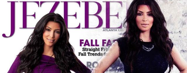 Kim Kardashian w magazynie Jezebel (FOTO)