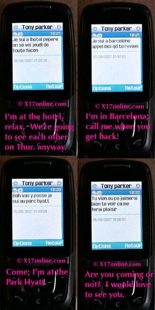Tony Parker i jego SMS-y