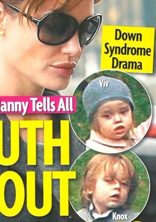 Magazyn Star: Knox i Vivienne Jolie-Pitt mają zespół Downa!