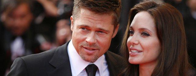 Brad Pitt sam przeciął pępowinę