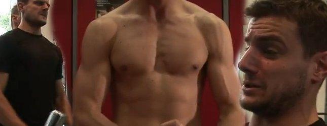 Antek Pawlicki i jego umięśnione ciało [VIDEO]