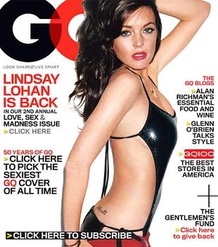 Lindsay Lohan symulująca seks z kobietą i z mężczyzną?