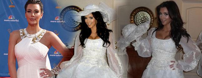 Jaka będzie suknia ślubna Kim Kardashian?