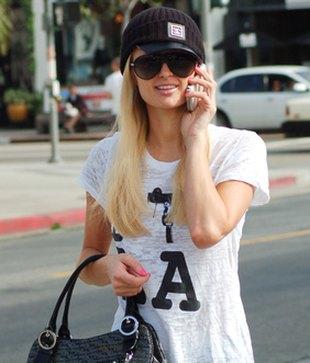 Paris Hilton na sportowo (FOTO)