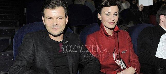 Maja Hirsch i Jacek Braciak razem w kinie (FOTO)