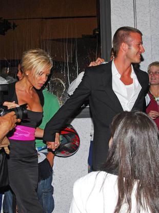 Victoria Beckham zabrała Davida na striptiz