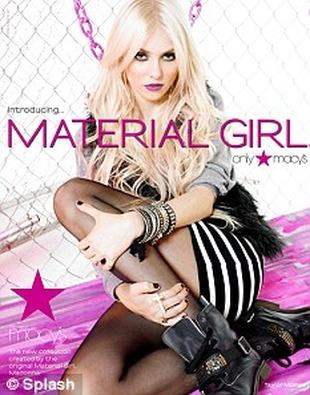 Taylor Momsen promuje kolekcję Madonny (FOTO)