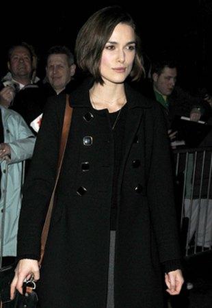 Keira Knightley jak szara myszka (FOTO)