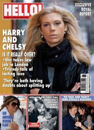 Chelsy Davy wróciła do Londynu