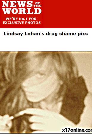 Zdjęcia Lindsay Lohan wstrzykującej heroinę! (FOTO)