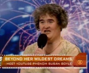 Susan Boyle jest nową gwiazdą (VIDEO)