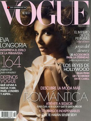 Eva Longoria dla Vogue Mexico