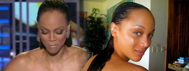 Tyra Banks pokazała swoje prawdziwe włosy (VIDEO)