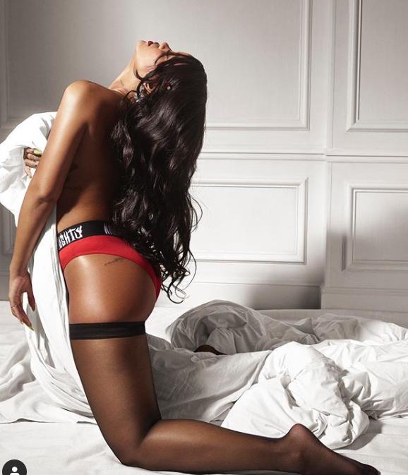 Rihanna reklamuje bieliznę