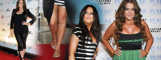 Khloe Kardashian znowu schudła (FOTO)