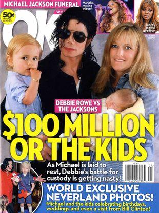 Debbie Rowe: Nie wzięłam 4 milionów za dzieci!