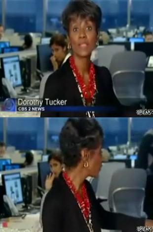 Dłubała w nosie na wizji! (VIDEO)