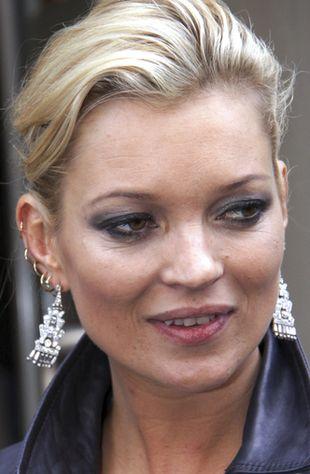 Kate Moss nie pije alkoholu - leczy grzybicę