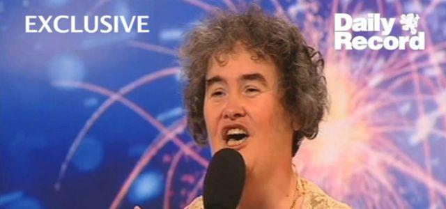 Susan Boyle w nagraniu z 1999 r.