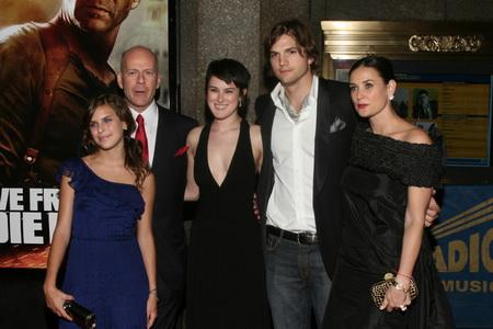 Ashton Kutcher i Bruce Willis dobrymi przyjaciółmi