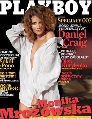 Monika Mrozowska nago w <i>Playboyu</i>