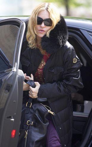 Madonna w depresji po odrzuconej adopcji
