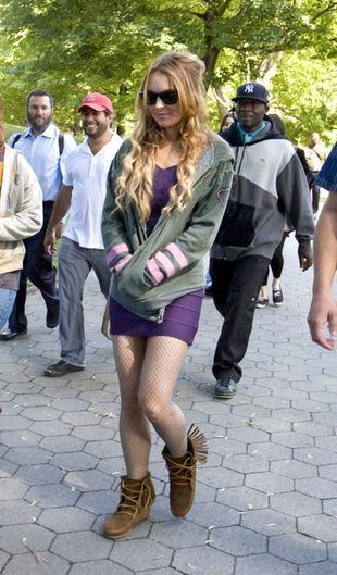 Lindsay Lohan wyleciała z pracy