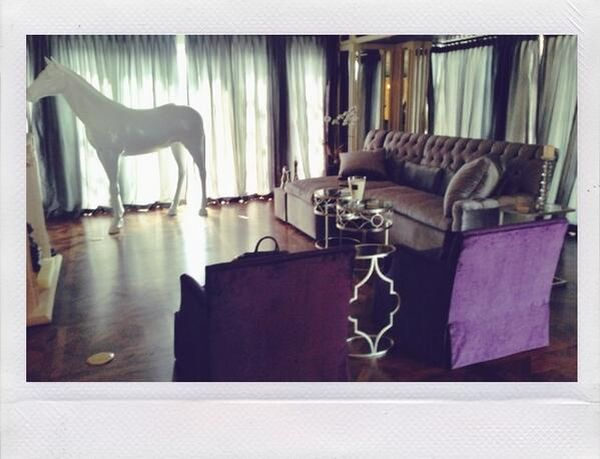 Kto w swoim salonie ma konia naturalnych rozmiarów? (FOTO)