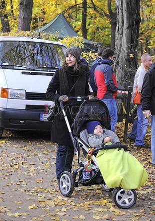 Maja Ostaszewska z dzieckiem (FOTO)