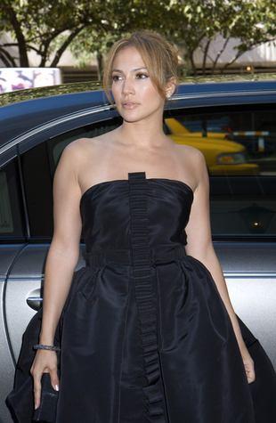 Jennifer Lopez i jej bardzo obcisłe sylwestrowe wdzianko