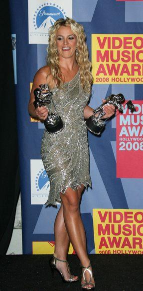 Britney Spears ćwiczy
