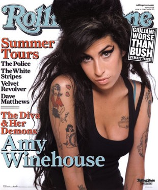 W Polsce stanął pomnik Amy Winehouse (FOTO)