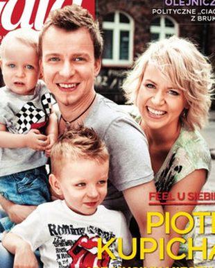 Piotr Kupicha z rodziną w Gali (FOTO)