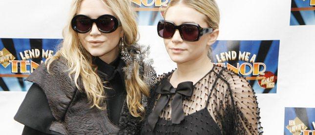 Siostry Olsen w czerni (FOTO)