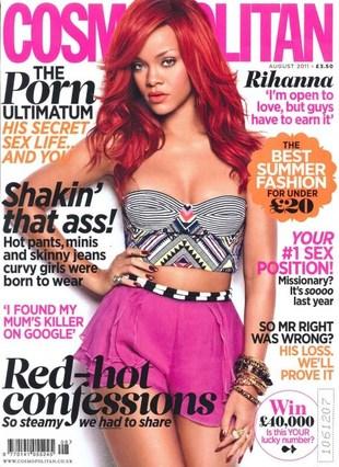Rihanna głodziła się przed sesją dla Esquire
