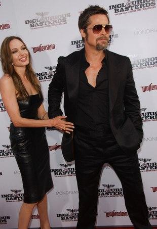 Angelina Jolie i Brad Pitt demonstrują, jacy są szczęśliwi